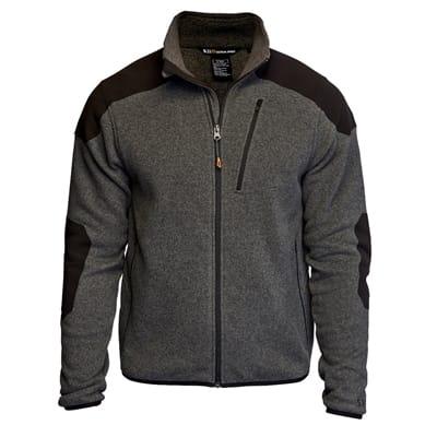 Picture of Tactical Full Zip Sweater - Gun Powder - XS