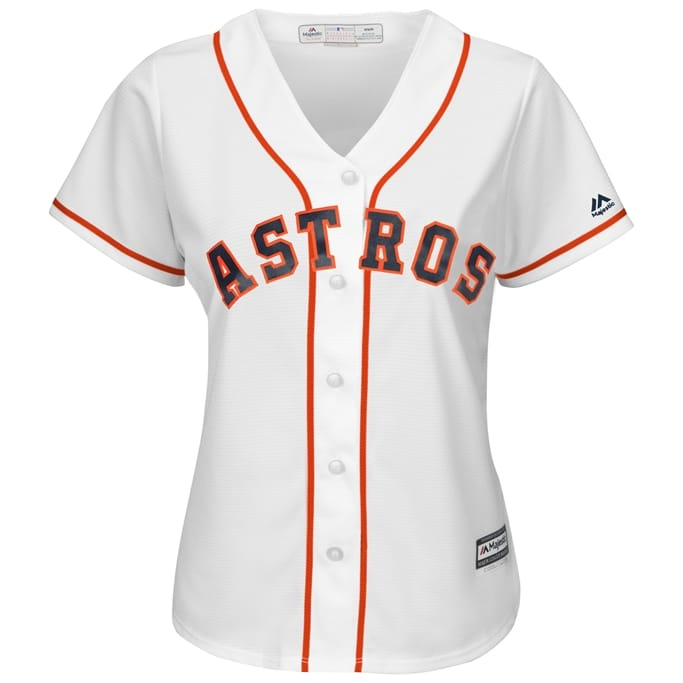e28c392c2b0 Women s Houston Astros Replica Home Jersey