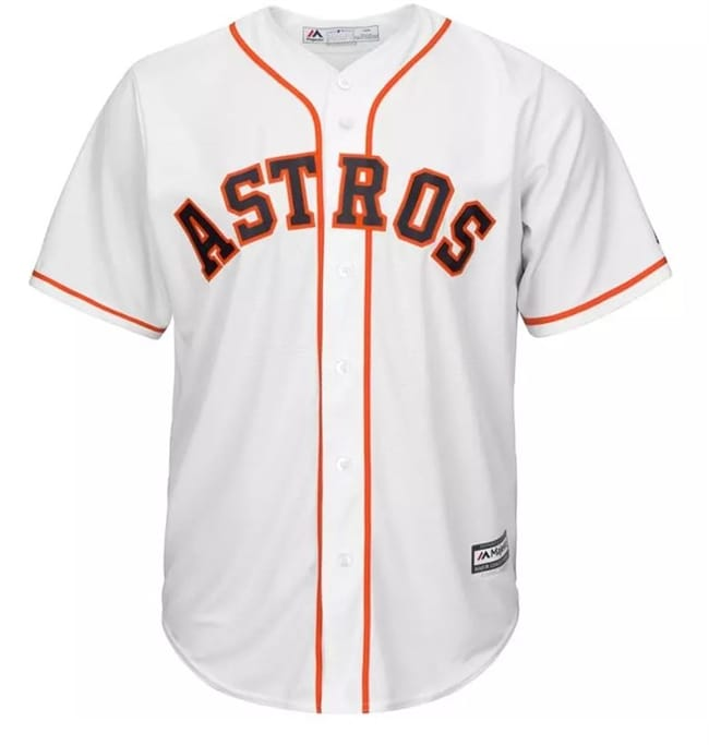 11890b67a Men s Houston Astros Replica Home Jersey