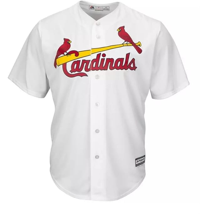 5a7991a1 MLB - Men's Cardinals Replica Home Jersey | Gov't & Military Discounts