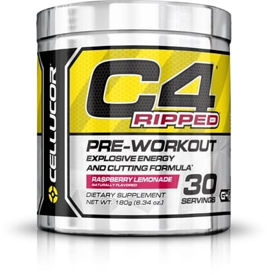 Picture of C4 Pre-Workout - 30 Servings - Ripped Raspberry Lemonade