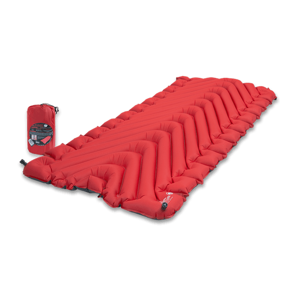 Klymit Insulated Static V Luxe Sleeping Pad Military