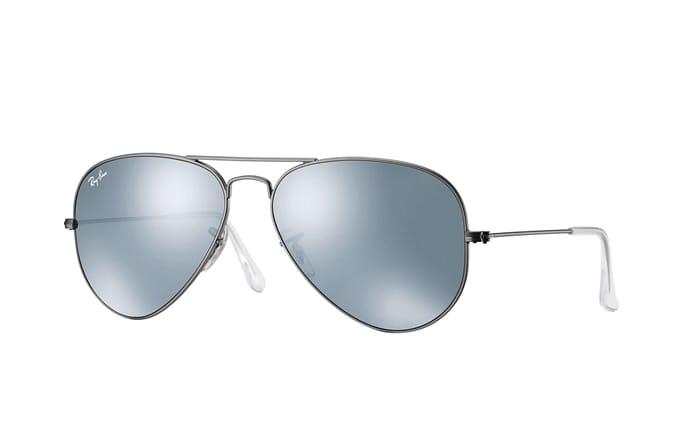 23af72135 Ray-Ban - Aviator Flash Lens Sunglasses Gov't & Military Discount | GovX