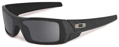 Picture of SI Fives Squared Polarized Sunglasses - Cerakote Cobalt Black Iridium Polarized