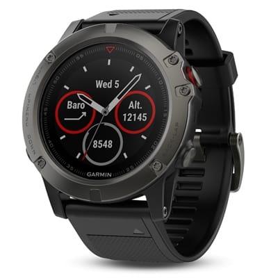 Picture of fēnix® 5 Multisport GPS Watch - Slate Gray/Black Band