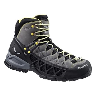 Picture of Men's ALP Flow Mid Gore-Tex Boots - Smoke/Yellow - 7