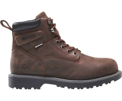 Picture of Men's Floorhand Steel Toe Boots - Brown - 7.5 - Extra Wide
