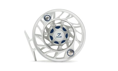 Picture of Gen 2 Finatic 7 Plus Large Arbor Fly Reel - Clear/Blue