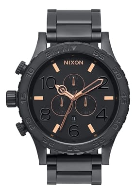 Picture of The 51-30 Chrono Watch - All Black / Rose Gold