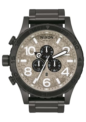 Picture of The 51-30 Chrono Watch - Black / Concrete