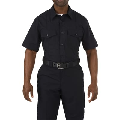 Picture of Men's Stryke Class A PDU Short Sleeve Shirt - Black - S - Regular