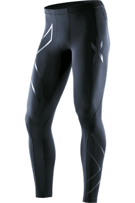 Picture of Men's Recovery Compression Tights - Black/Black - XS