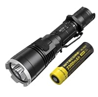 Picture of MH27UV Tactical Rechargeable UV Flashlight with Batteries