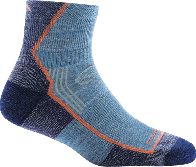 Picture of Women's Hiker 1/4 Sock Cushion Socks - Denim - S