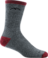 Picture of Mountaineering Micro Crew Extra Cushion Socks - Smoke - L