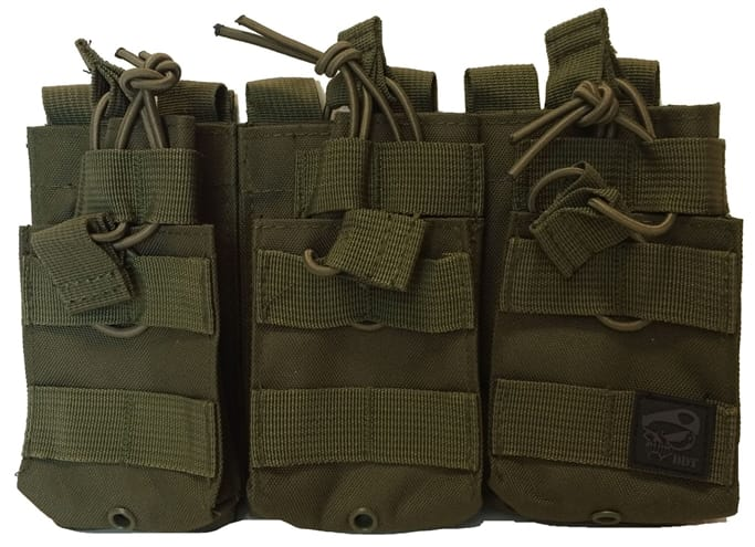 Death Dealer Tactical - Triple Stacker Molle Mag Pouch Military ... c6ed831b47