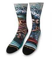 Picture of Men's Surf Freak Classic Crew Socks - L