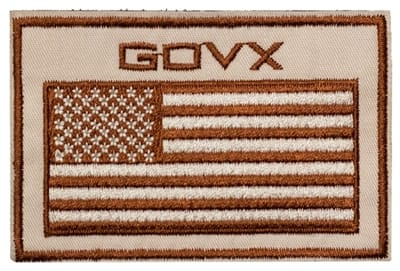 Picture of GovX Flag Patch - Coyote