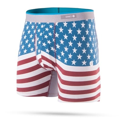 Picture of Men's Bicentennial Underwear - Red - L