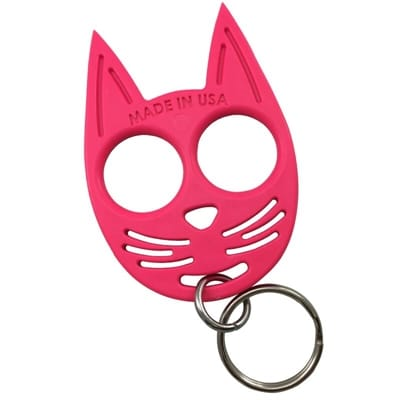 Picture of My Kitty Self-Defense Keychain - Hot Pink