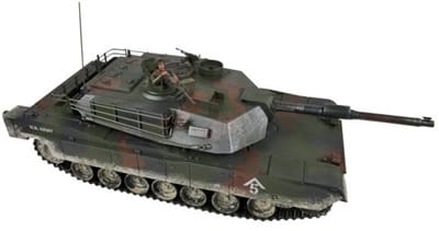 Picture of M1A1 Abrams Woodland Remote Control Tank - Woodland Camo