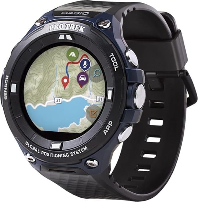 58d15fe5d66 Casio - Pro Trek WSD-F20 Smart Watch Military Discount