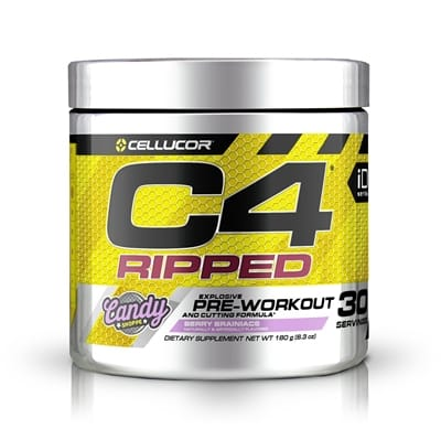 Picture of C4 Ripped Pre-Workout - 30 Servings - Berry Brainiacs