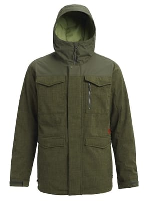 Picture of Men's Covert Jacket - Forest Night Heather/Forest Night - XS