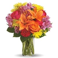 Picture of Bright Smiles Bouquet - Friday, January 4, 2019