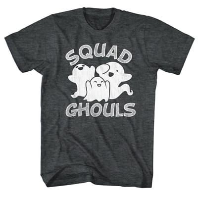 Picture of Men's Squad Ghouls T-Shirt - Black Heather - M