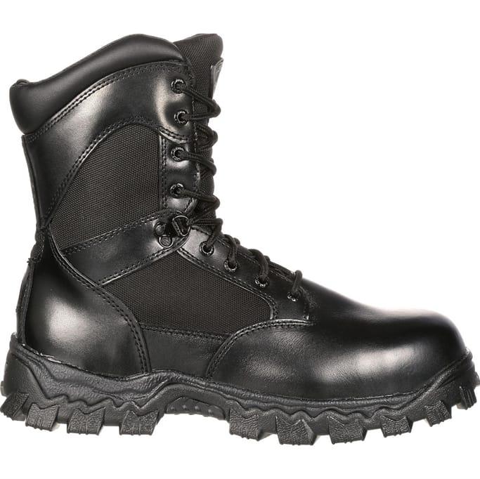 9dd03f1496e Rocky Boots - Men's AlphaForce Zipper Waterproof Duty Boot Military ...