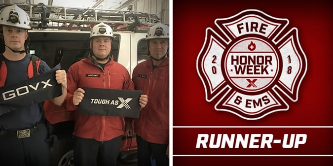 2018 Firefighter Honor Week Runner Up - Thurston County Special Operations Rescue Team