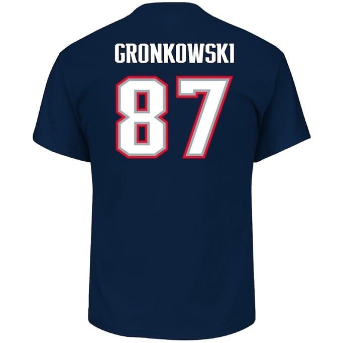 sports shoes 51493 9b62b Majestic - Men's Rob Gronkowski T-Shirt - Military & Gov't ...