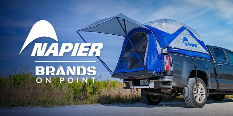 Three American Explorers Take Napier Vehicle Tents for a Drive