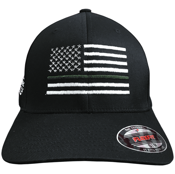 Eagle Six Gear - Military Flexfit Flag Hat - Military & Gov't