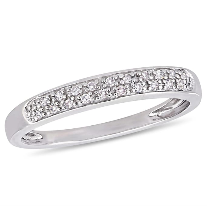 Diamond Jewelry Clearance 1 10 Ct Tw Diamond Eternity Ring In