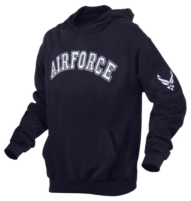 Rothco Officially Licensed Marines Air Force Pullover Hoodie Sweatshirt